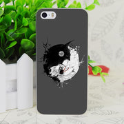 C4047 Gotham Opposites Transparent Hard Thin Case Skin Cover For Apple IPhone 4 4S 4G 5 5G 5S SE 5C 6 6S Plus