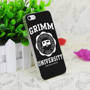 C4088 Grimm University Transparent Hard Thin Case Skin Cover For Apple IPhone 4 4S 4G 5 5G 5S SE 5C 6 6S Plus