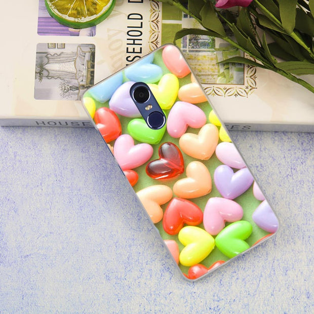 Candy Colorful Sweet Candy Cover Case For Xiaomi Redmi 3 3S 6 Pro S2 4A 4X 5A 6A 5 Plus Note 5A Note 2 3 4 4X 5 6 Pro Mi 5x