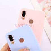 Candy TPU Silicone Cover For Huawei On Honor 9 Lite 7C 7X 6C 7A Pro P Smart Y9 Y6 Y5 Prime 2018 P20 P10 P9 P8 Mate 10 Lite Cases
