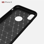 Carbon Fiber Phone Cover For IPhone X 10 6 Plus 6s Fundas For IPhone 7 8 Plus 5 5S SE Coque For IPhone Xs Max XR 7plus TPU Case