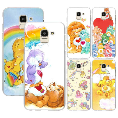 Care Bears Pattern Transparent Hard Phone Case Coque For Samsung Galaxy J4 J6 J8 2018 J3 J5 J7 2017 J2 Pirme