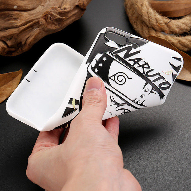 Cartoon Naruto Sasuke Kakashi Case For IPhone XS Max XR Itachi Minato Soft Silicon Cover For IPhone X XS XR 6 6S 7 8 Plus Coque