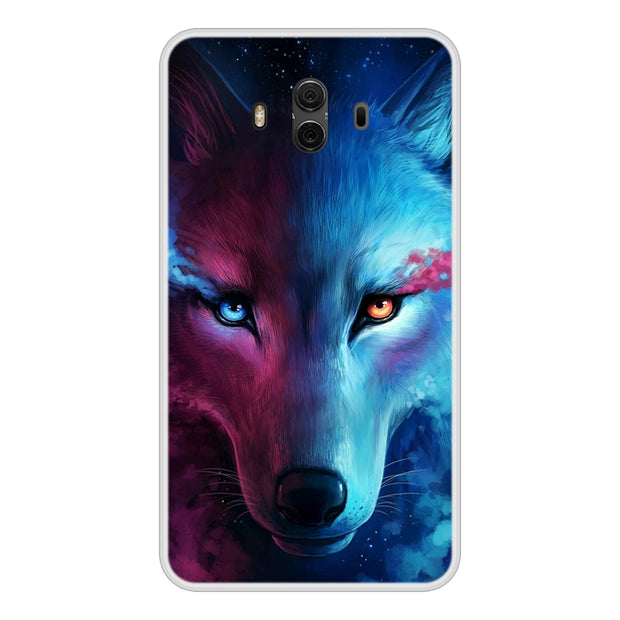 Case Cover For Huawei Mate 10 Soft Silicone TPU Cool Patterned Printing For Huawei Mate 10 Phone Cases