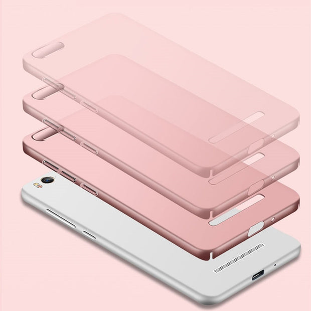 Case Cover For Xiaomi Redmi 4A Luxury Frosted Shield Hard PC Plastic Phone Bag Cases For Xiaomi Redmi 4A Redmi 4 A 5.0inch Capa