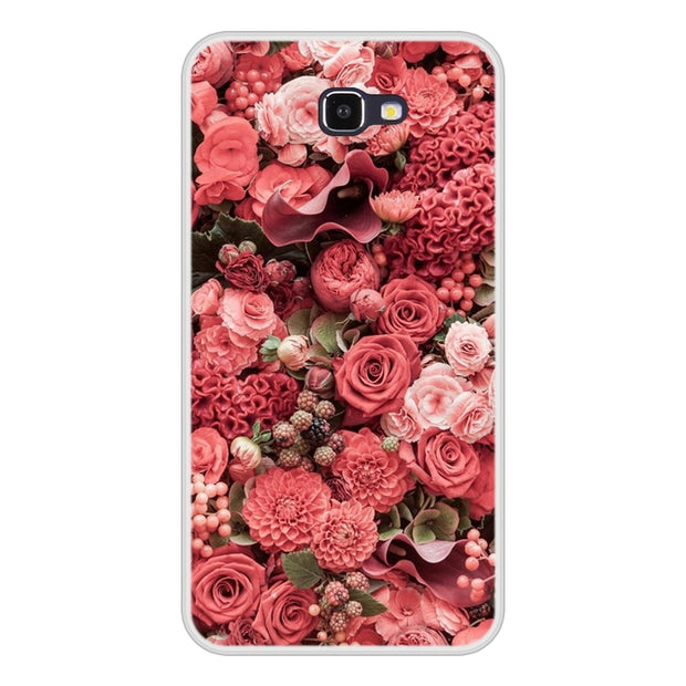 Case For Samsung Galaxy J7 Prime Soft Silicone TPU Cool Pattern Painting For Samsung J7 Prime Phone Case Cover