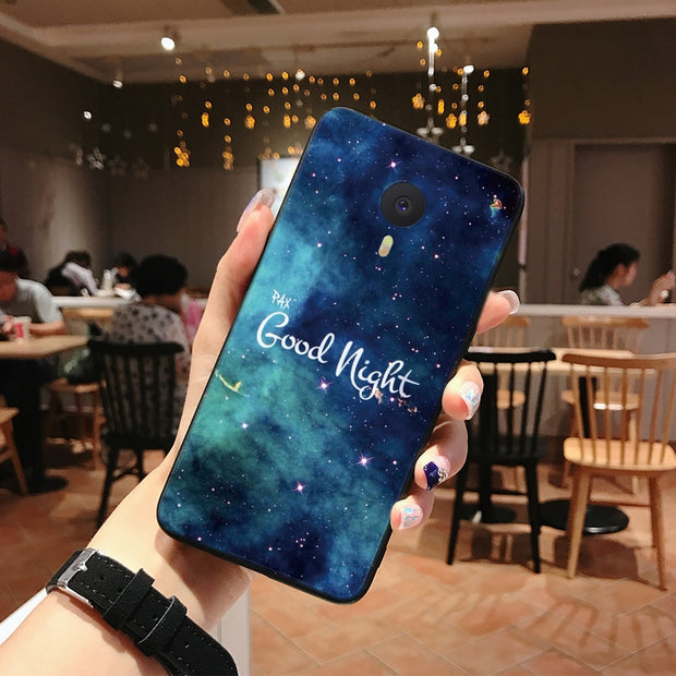 "Case For River 5.5"" Meizu M3 Note Case Cover Soft Silicone Phone Back Case Meizu M3 Note Protective Shell Cover M3 Note Case"