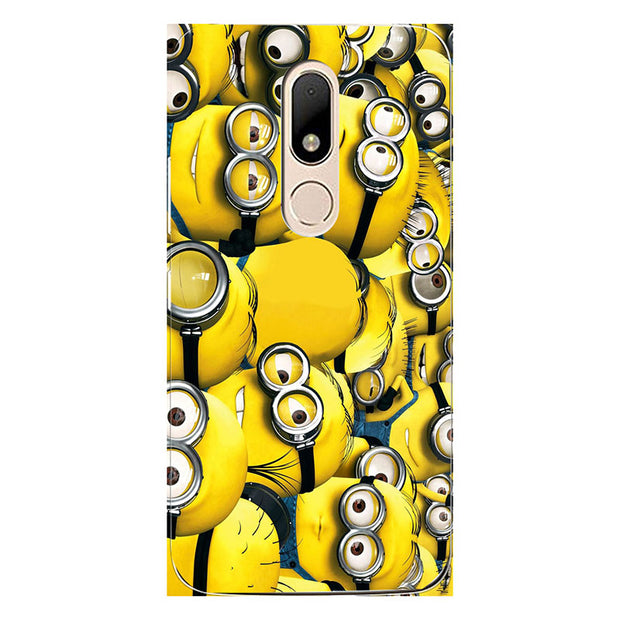 Cases For Motorola Moto M XT1662 XT1663 Soft TPU Back Cover Coque Print Painting Symbol Style Case
