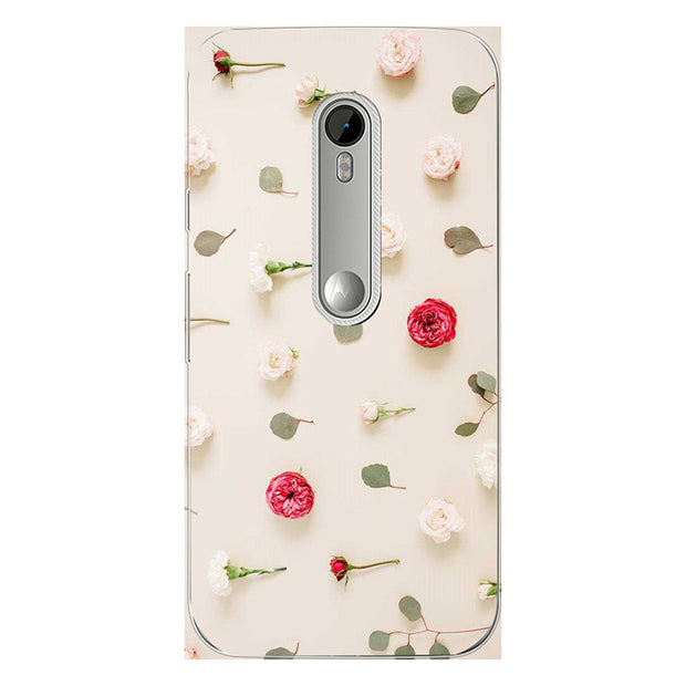 Cases For Motorola Moto G3 (G 3nd) Gen XT1552 XT1541 XT1542 XT1543 Soft TPU Back Cover Coque Print Painting Symbol Style Case