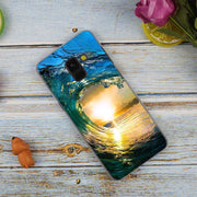 Clear Sea Sky Sandy Beach Sunset Hot Transparent Case For Samsung Galaxy A3 A5 A9 A7 A6 A8 Plus 2018 2017 2016 Star A6S Note 9 8