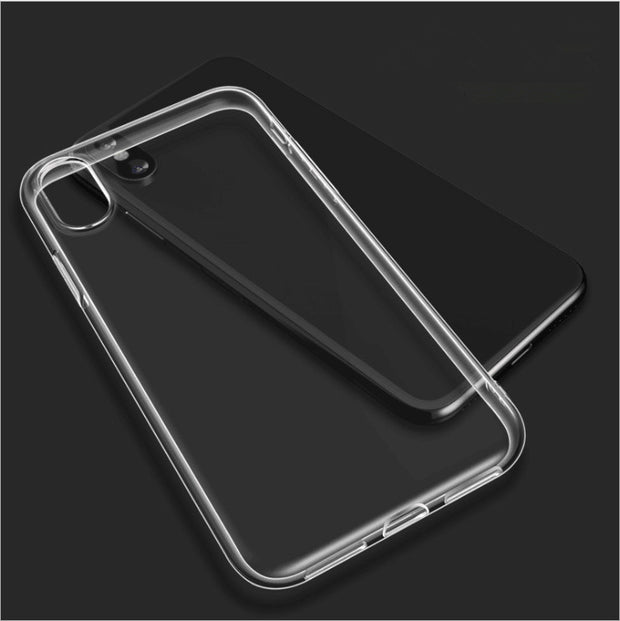 Clear Silicon Ultra Thin TPU Case For 7 7Plus 8 8Plus X XS XR MAX Transparent Phone Case For IPhone 5 5s SE 6 6s 6Plus 6sPlus