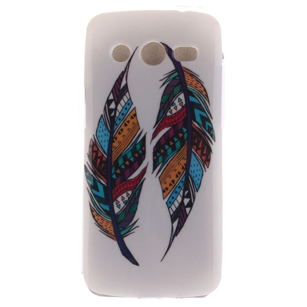 Coque For Samsung Galaxy Core LTE 4G G386F Hot Sale TPU Slim Silicone Soft Cell Phone Cover Cases New Arrival Fashion IMD Case