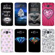 Crystal Diamond Clear Case Cover Coque Shell For Samsung Galaxy J1 J2 J3 J5 J7 2016 2017 Emerge