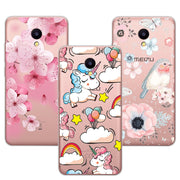 "Cute Dog Case Fundas Fundas For Meizu M5C Soft TPU Flowers 3D Relief Lace Cover Capa For Meizu M 5C M5 C 5.0"" Coque +Gift Pen"