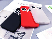 Cute Korea Cartoon Case For IPhone X 8/7 Plus Fundas 3D Owl Silicone Soft Protective Phone Cases For IPhone 5 5S 6 6S Plus 6Plus