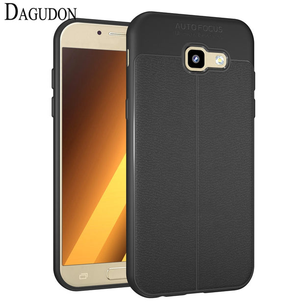 DAGUDON Case For Samsung Galaxy A5 2017 A520 Phone Protective ShockProof Silicone TPU Anti Slip Case For Samsung A5 2017 Cover