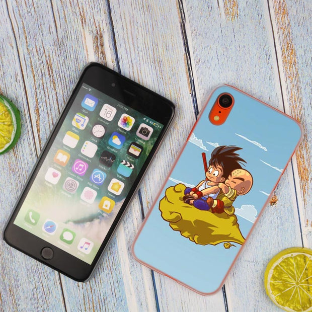 DBZ Dragon Ball Anime Hot Fashion Transparent Hard Phone Cover Case For IPhone X XS Max XR 8 7 6 6s Plus 5 SE 5C 4 4S