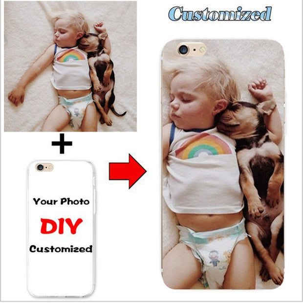 DIY Personalized Custom Photo Name Customize Printing Your Design Picture Silicone Cover Case For Motorola Moto M XT1662 XT1663
