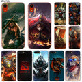 DOTA 2 Hero Hot Fashion Transparent Hard Phone Cover Case For IPhone X XS Max XR 8 7 6 6s Plus 5 SE 5C 4 4S