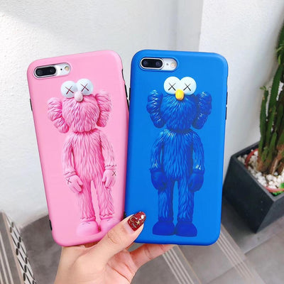 Designer Funny Elmo Doll Bright Phone Case Imd Matte Soft Cover Casing For IPhoneXsmax 8plus 6s 7P Skinny Shell Body Protection