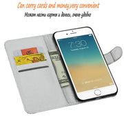 Dneilacc Luxury Stand Wallet Flip Leather Cover For Samsung J8 2018 Phone Case Stand TPU Cover With Card Slot