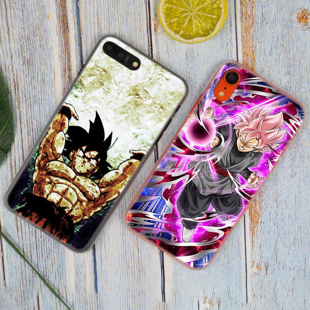 Dragon Ball GT Goku Super Saiyan Hot Fashion Transparent Hard Phone Cover Case For IPhone X XS Max XR 8 7 6 6s Plus 5 SE 5C 4 4S