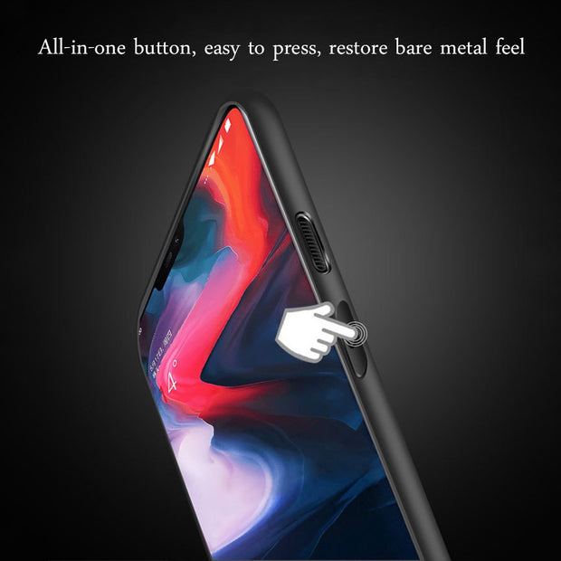 Dreamysow Anti-Scratch Matte Phone Case For Oneplus 5 5T 6 6T High Quality Protective Shell Phone Back Cases Shock-absorption