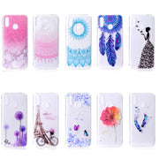 EACHTEK Soft TPU Phone Case For Huawei Enjoy 8 Plus Y9 2018 Mate 10 Pro P20 Lite P8 P9 Lite 2017 Cover For Huawei Honor 9 8 Lite
