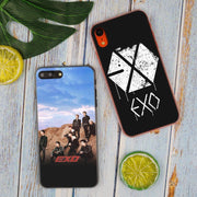 EXO EVE Hot Fashion Transparent Hard Phone Cover Case For IPhone X XS Max XR 8 7 6 6s Plus 5 SE 5C 4 4S