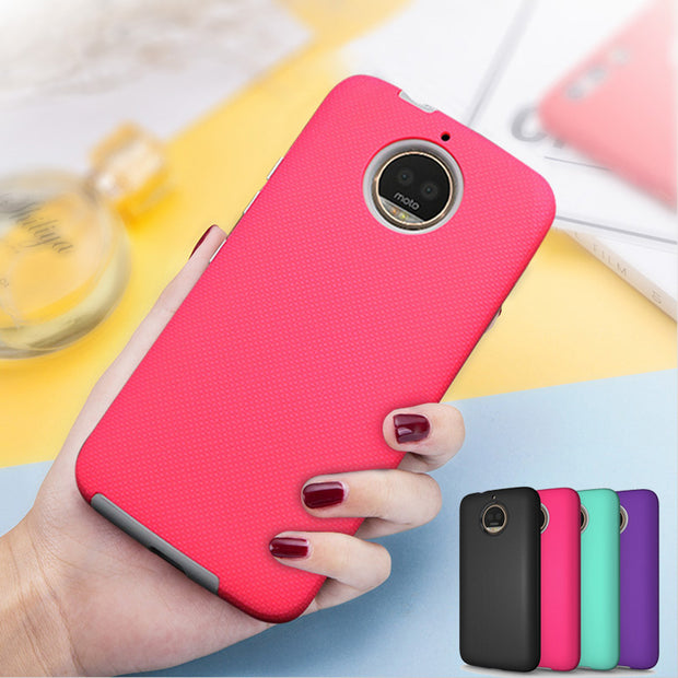 Effelon Luxury Hybrid Shockproof Phone Cases For Coque Motorola Moto Z G4 G5 G5s G6 G7 Plus Play Cases Cover Driod XT1650 Cases
