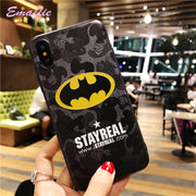 Emaffie Case For IPhone X Case For IPhone 5 5S SE 6 6S 7 8 Plus X Case Silicon Cover For IPhone 8 Plus Fundas Captain America