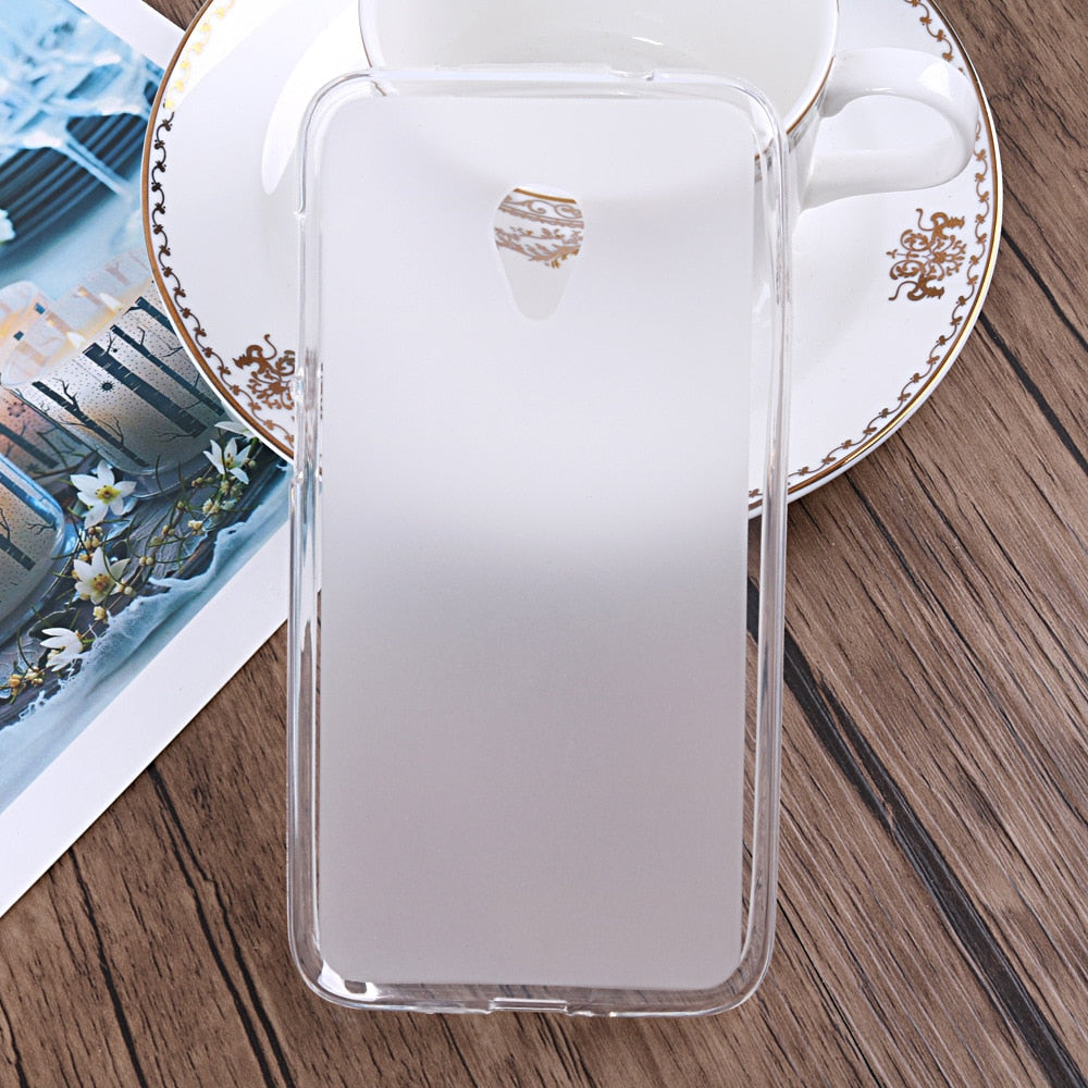 FOR Alcatel U5 HD 5047[DY] 3G 4047[DX] 4G 5044[DY] Case Soft TPU Protective  Coque Shell Fundas Caso Matte Pudding Silicone