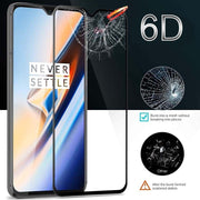 Fashion 6D 9H Tempered Glass Hardness Phone Case For One Plus 6 6t 5 5t 3 3t Screen Protector Flim Full Coverage Protective Case