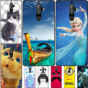 "Fashion Cartoon Printing Case For Lenovo K8 Note Lenovo Vibe K8 Note 5.5"" Phone Bag Cat Landscape Drawing Back Cover Coque Hot"