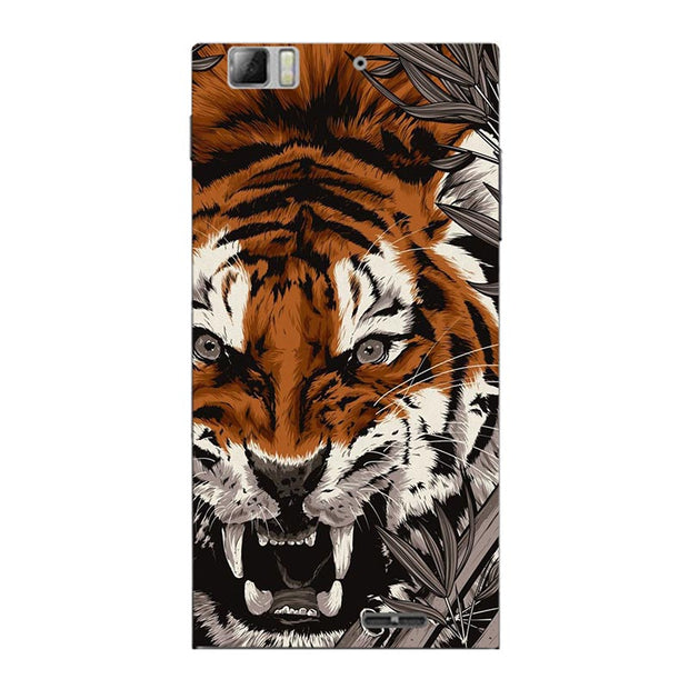 Fashion Cartoon Printing Case For Lenovo K900 K 900 Phone Bag Cat Landscape Drawing Back Cover Coque Hot