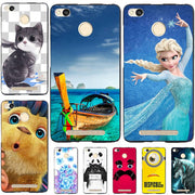 Fashion Cartoon Printing Case For Xiaomi Redmi 3X 3 Pro/ Redmi 3S Phone Bag Landscape Drawing Cover Coque For Rdemi 4A 5A 6A