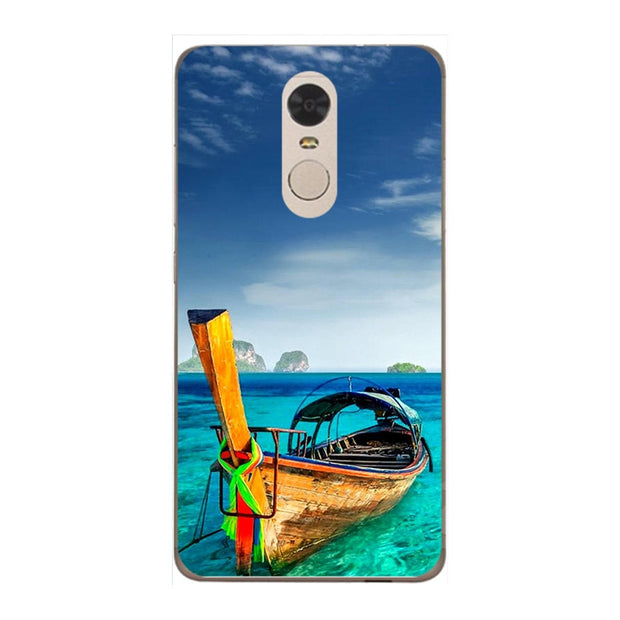 Fashion Cartoon Printing Case For Xiaomi Redmi Note 4 Pro Prime Note 4X Back Cover Coque For Xiaomi Redmi 5 Plus Redmi5 Plus