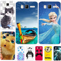 Fashion Cartoon Printing Soft Silicone Case For Lenovo A916 A 916 Phone Bag Cat Landscape Drawing Back Cover Coque Hot