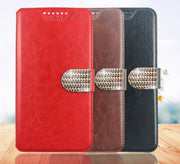 Fashion Flip PU Leather Cover Case For Doogee X70 X55 X53 X10 BL5000 T5S Magnetic High Quality Mobile Phone Shell