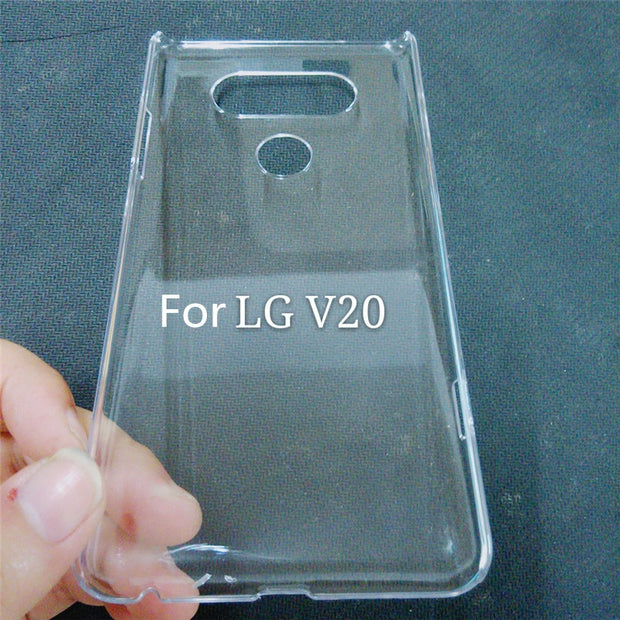 Fashion Ultra Thin Hard Case For LG V20 Case Back Cover Slim Transparent Clear Phone Cases Capa Fundas NEW!