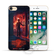 Film Stranger Things For IPhone 6S Case 5 5S 6 6S 7 8 Plus X Thriller Soft Silicone For Fundas Iphone 7Plus X 8 Phone 7 Case