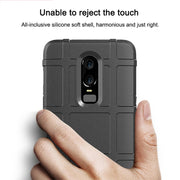 Fintorp Army Heavy Case For One Plus 6 Cases Silicone Shield Protective Back Covers Coque For OnePlus 6 Bumper Funda Capa