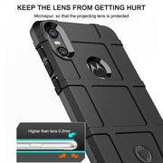 Fintorp Cases For Moto Z3 Play G7 Case Armor Heavy Silicone Shield Protective Cover Coque On For Moto One Power Bumper Funda