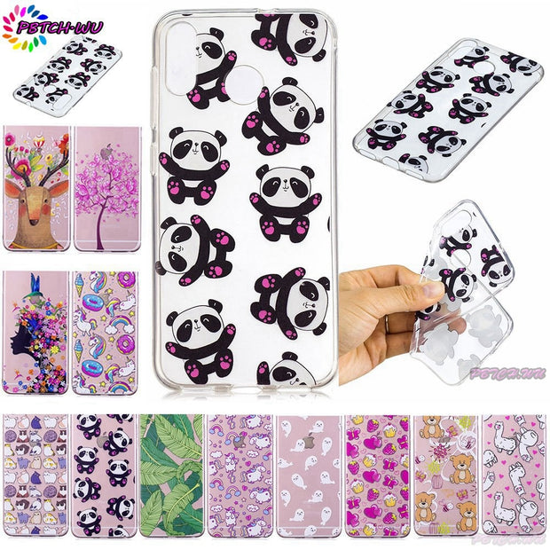 Fitted Case For ASUS ZenFone Max (M1) ZB555KL ZB 555KL Soft TPU Silicone Phone Protector Cover For ASUS X00PD ASUS_X00PD Capa