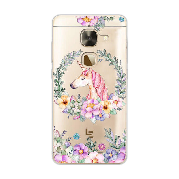 "Flamingo Case 3D Relief Lace Case Capa For Leeco Le2 Pro X620 X622 Cute Cat Cover Soft TPU For Letv Le 2 X527 5.5"" Fundas +Gift"