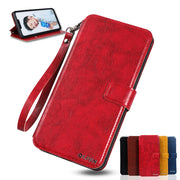 Flip PU Leather Wallet Cover Case For Coque Sony Xperia C3 C4 E4 E5 XA E4G T3 L1 M5 XA1 Case +Card Slot Lanyard Protective Bag