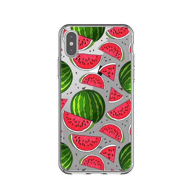 Flower Leaf Print Phone Case For IPhone X XS MAX XR Cactus Leaves Flamingo Silicone Bacl Cover For IPhone 7 8 6 6s Plus 5 5S SE