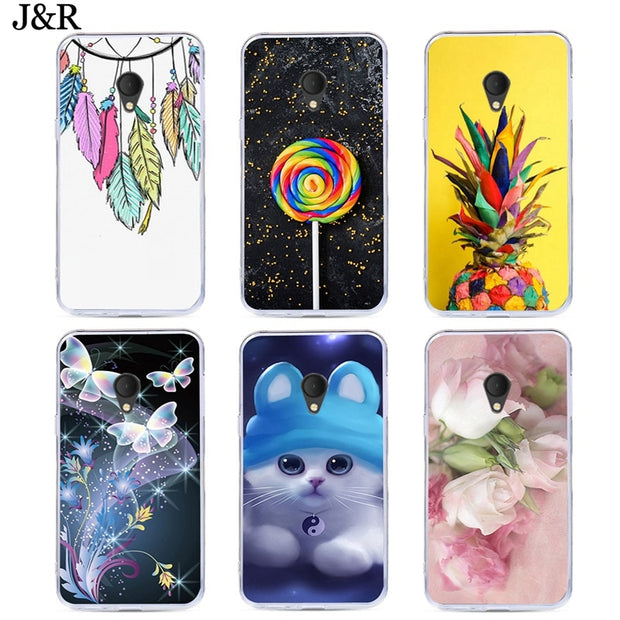 hot sale online 46d62 70d02 For Alcatel U5 3G 4G 4047D 4047 4047Y Case For Alcatel 5V 3C 1X 3X Silicone  Painted Cover Owl Cat Flower Cute Animals Patterned