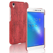 For Asus Zenfone Live ZB501KL Cover Wood Grain PU Leather Protective Hard Case For Coque Zenfone Live ZB501KL Phone Cases Capa