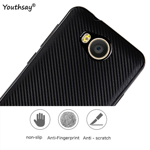 For Case Huawei Y3 II Cover Shockproof TPU Brushed Style Phone Shell